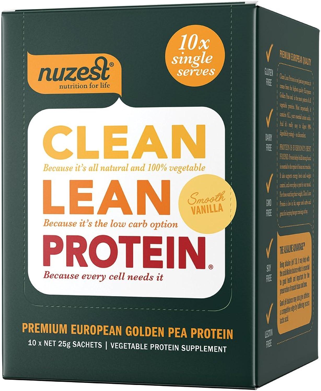 Nuzest Clean Lean Predein Smooth Vanilla, 10x25g sachets