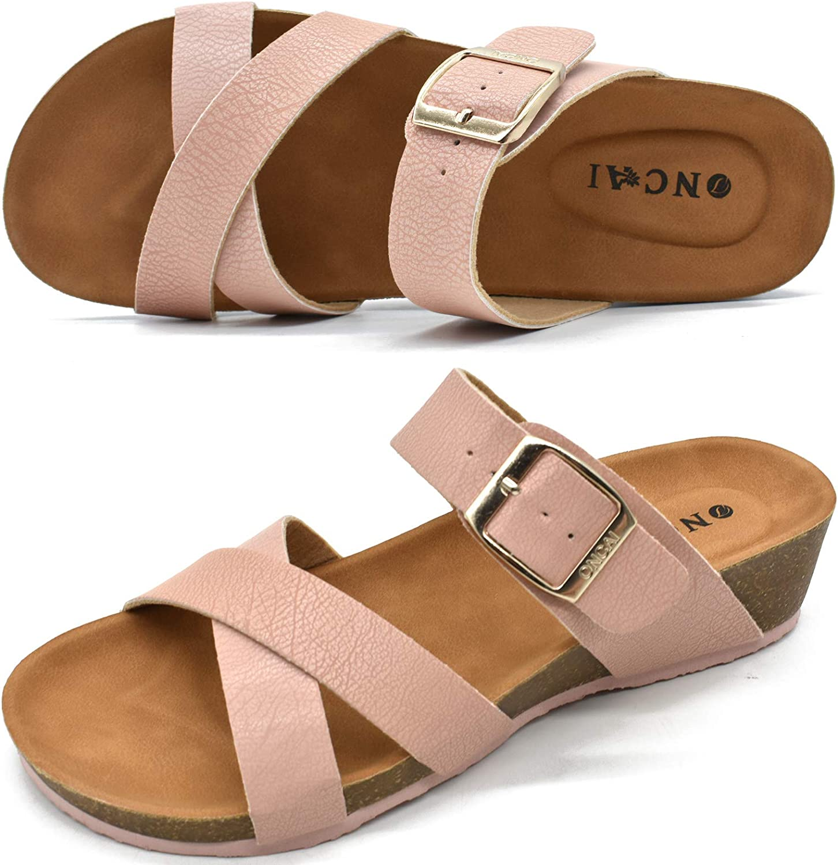 ONCAI Women's Platform Sandals Fashion Open Cross Criss Virginia Beach Mall Many popular brands Toe Beac