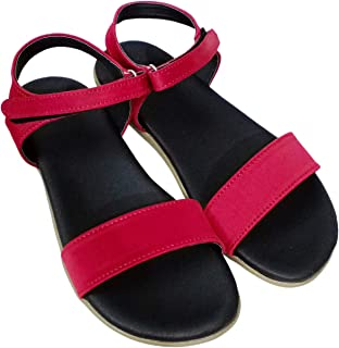 Saanvishubh Synthetic Faux Leather Sandal for Women
