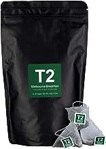 T2 Tea Melbourne Breakfast Black Tea Bags in Resealable Foil Refill Bag, 60-Count