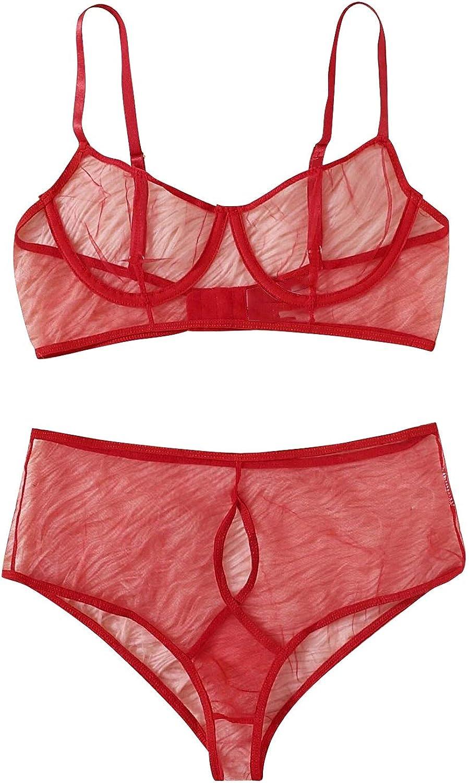 San Diego Mall Two Piece Babydoll Nightwear for Max 56% OFF Underwear Women Sexy Lac Erotic