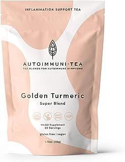 AIP Diet Herbal Tea - Anti Inflammatory: Autoimmune Tea Blend for AIP, Whole 30, Paleo friendly, Autoimmune Protocol - 100...