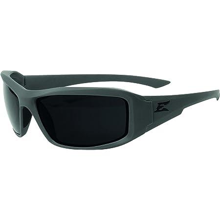 Edge Eyewear Hamel Wolf Thin Temple Glasses, Matte Gray Frame/G-15 Vapor Shield Lens