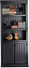 Wood & Style Home by Martin Southampton Library Bookcase - Fully Assembled Decor Comfy Living Furniture Deluxe Premium Collection