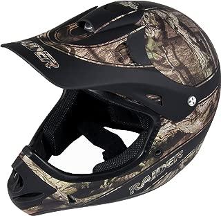 Raider 24-630MO-14 Ambush Adult MX Off-Road Helmet, Mossy Oak Break Up Infinity (Medium)