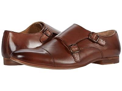 WALK London Luca Monk (Brown Leather) Men