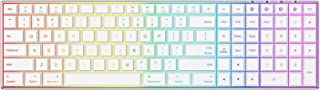Multi-Device Backlit Bluetooth Keyboard for Mac,Jelly Comb A