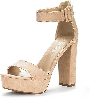 Women's Hi-Lo High Heel Platform Pump Sandals