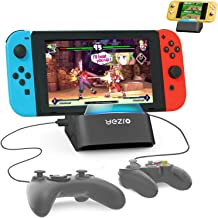 Nintendo Switch Dock Switch Lite Playstand - Portable Charging Dock Station for Switch Lite/Switch - Play with Wired Contr...