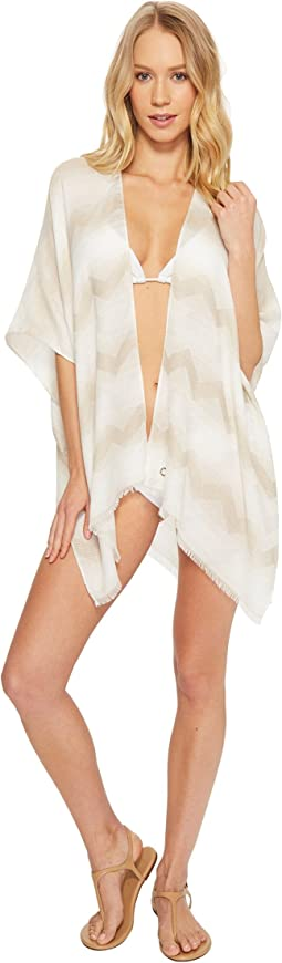 Calvin Klein - Chevron Beach Cover-Up