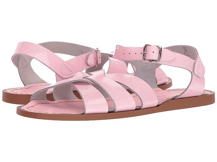Salt Water Sandal by Hoy Shoes  The Original Sandal (Big Kid/Adult) (Shiny Pink) Girls Shoes