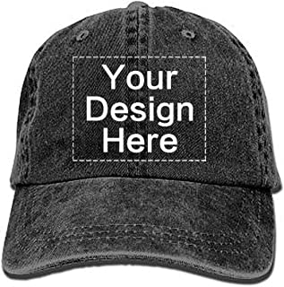 Custom Baseball Cap Personalized Vintage Dad Hat Design Your Own, Unisex