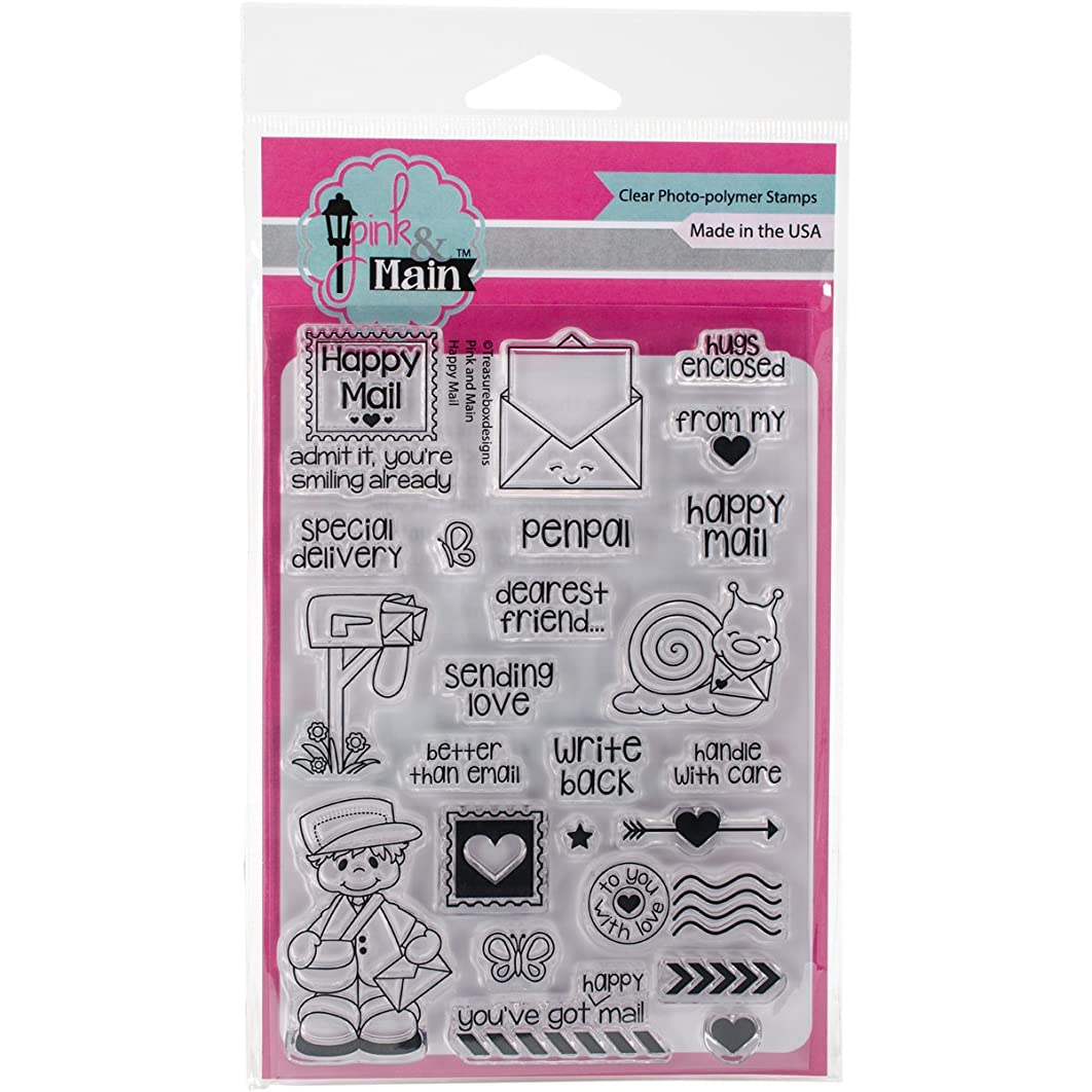Pink & Main PM0169 Clear Stamps 4