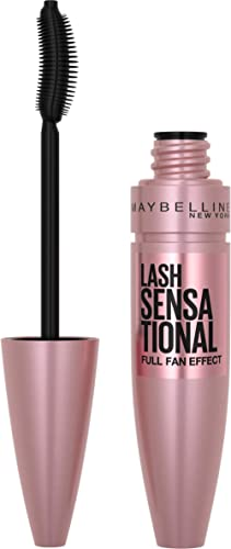 Maybelline Lash Sensational Full Fan Effect Mascara - Blackest Black,9.5ml