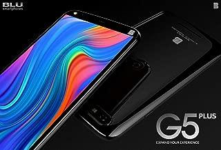 "Điện thoại di động Android – Blu G5 Plus Android Cell Phone 6"" HD Display 32GB Memory/2GB RAM Octa-Core -Black (Renewed)"