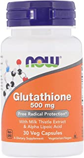 Now Foods, Glutathione, 500 Mg, 30 Veg Capsules