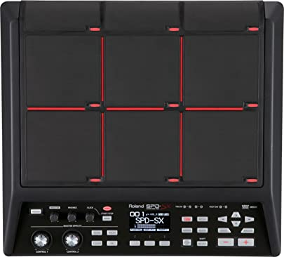 Roland Sample Pad  4GB Internal Memory and In-Built Pads  SPD-SX