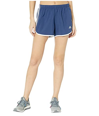 adidas M20 4 Shorts (Tech Indigo/White) Women