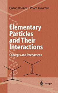 Elementary Particles and Their Interactions: Concepts and Phenomena