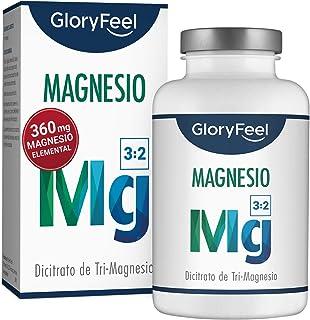 GloryFeel® Citrato de Magnesio - 360 mg Magnesio Elemental