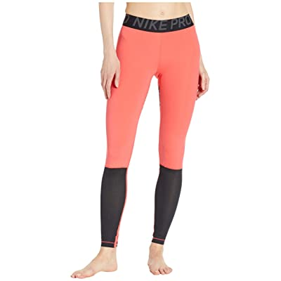 Nike Pro Sport Distort Tights (Ember Glow/Black/Anthracite/Black) Women