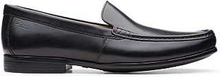 الحذاء الرسمي كلود بلون واحد للرجال من كلاركس, (اسود), 43 EU