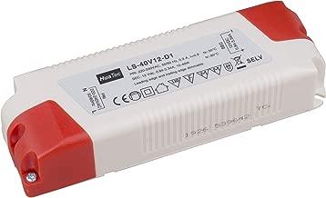 blanc HuaTec Eaglerise Transformateur LED 12 V Tension constante pour lampes LED jusqu/à 3 /à 200 W