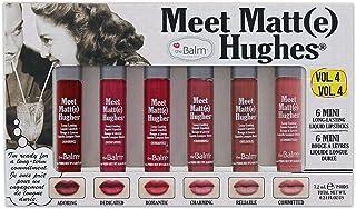 TheBalm MEET MATTE HUGHES VOL.4- (Set of 6 Mini Long-Lasting Liquid Lipsticks)
