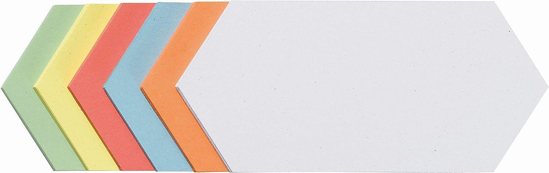 Franken UMZ102099 Moderationskarten Rechtecke 95x205 mm sortiert 500 Stück np