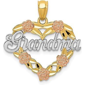 24 mm Jewels Obsession #1 Grandma Pendant Sterling Silver 925#1 Grandma Pendant