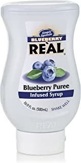 Real Bluberry Puree Infused Syrup, 500 ml