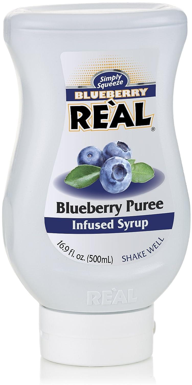 Blueberry Reàl Puree Infused Syrup Max 40% OFF Charlotte Mall FL 16.9 OZ Squ
