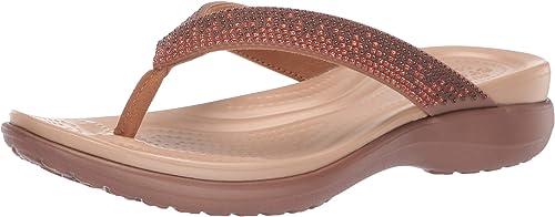 Crocs damen& 39;s Capri V Diamante Flip Flop