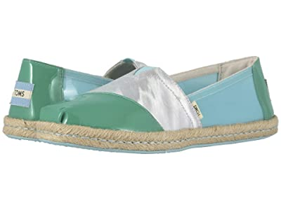 TOMS Alpargata on Rope (Pastel Turquoise Translucent TPU on Rope) Women