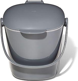OXO Good Grips Bac à compost – Poubelle compost pour la cuisine - Anti-odeurs - Gris - 2,8 L