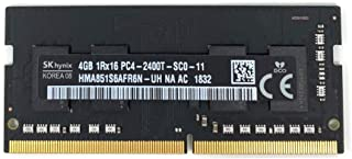 Hynix 4GB PC4-19200 DDR4-2400MHz non-ECC Unbuffered CL17 260-Pin SoDimm Memory Module Mfr P/N HMA851S6AFR6N-UH