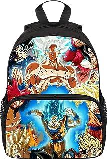 Mochila Dragon Ball Goku, Mochila Dragon Ball, Mochila Dragon Ball Escolar Pequeña Adolescente Chicos Niños Primaria Mochilas y Bolsas Impresión Juvenil Bolsa Infantil (26)
