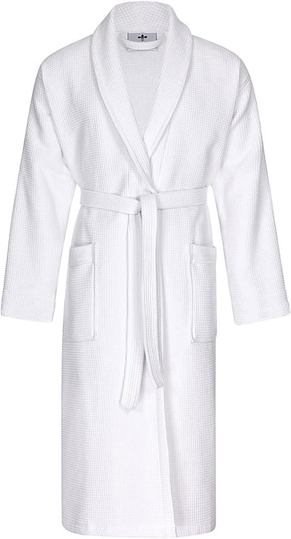 Floringo Premium Bademantel Waffelpikee Schalkragen weiß-M weiß-M weiß-M B006TZAQ4U  Hohe Qualität und geringer Aufwand 945cea