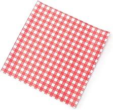 DOODLEBUG GingLinenSwssDot Paper Pad 6x6 Gingham Swiss Dot