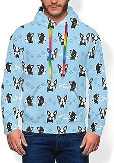 Hip-Hop Plus Velvet Thick Sweatshirts Pullover Winter Autumn Tops for Mens Boys
