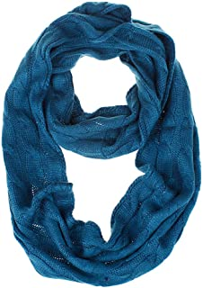 Winter Femme Silk Chiffon Scarves Scarves Women Warm Knit Cowl Neck Long Shawl