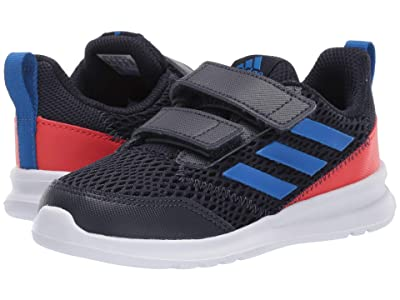 adidas Kids AltaRun CF (Toddler) (Legend Ink/Blue/Orange) Boys Shoes