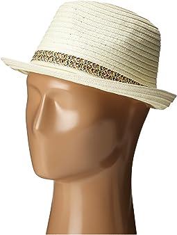 San Diego Hat Company - PBF7301 Fedora with Pop Inset