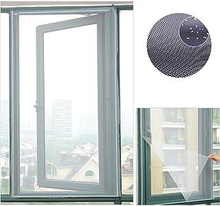 comprar comparacion Mosquitera magnética para ventana, mosquitera Invisible y tallado con velcro para protección de insectos 150?x 130?cm