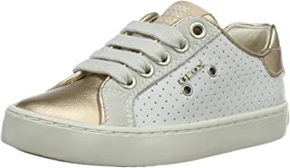 Geox J Kiwi G Girls Leather Sneakers/Shoes