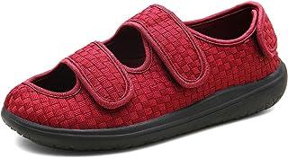 Sandales Hommes Femmes Chaussons Patients diabétiques Dames Edema Swollen des Sandales Respirant Chaussures Réglables Chau...