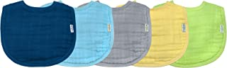 green sprouts Muslin Bibs made from Organic Cotton (5...