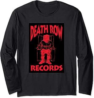 Death Row Records Logo Black Box Long Sleeve T-shirt