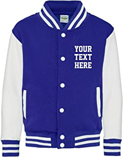 Personalized Adults Varsity Jacket