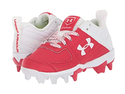 Under Armour Kids Leadoff Low RM Baseball (Toddler/Little Kid/Big Kid) (Red/White) Kids Shoes